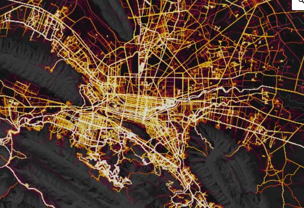 Mapa de calor Monterrey